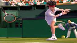 John McEnroe slamming his racket in at Wimbledon 'EA Sports Grand Slam Tennis'