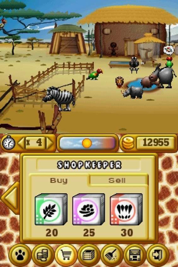 Buying and selling animals and goods in 'My Farm Around the World'