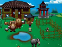 Ming Yue the Elephant in 'My Farm Around the World'