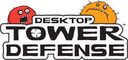 'Desktop Tower Defense' game logo