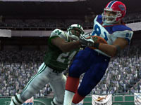 Impact camera example from 'Madden NFL 10' for PS2