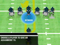 Unique play design in 'Madden NFL 10' for PSP