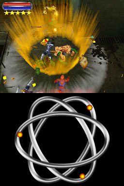 Fusion Powers In Action Marvel Ultimate Alliance 2 For DS DSi