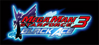 'Mega Man Star Force: Black Ace' game logo