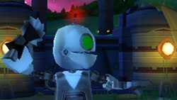 A variety of super spy weapons and gadgets in 'Secret Agent Clank'