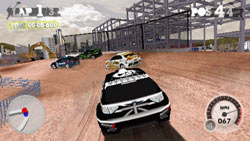 Multiplayer racing in 'DiRT 2' for Wii