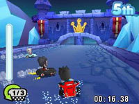 fast-paced action in 'MySims Racing'