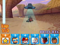 Multiplayer mayhem in 'MySims Racing'