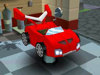 Car customization in 'MySims Racing'