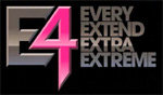 'E4' game logo