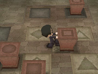 Puzzle-solving in 'MySims Agents' for DS