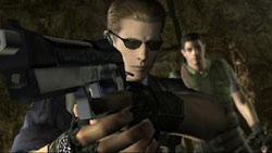 S.T.A.R.S. team members in 'Resident Evil Archives: Resident Evil'
