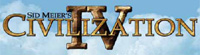 'Sid Meiers Civilization IV' game logo