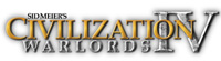 'Sid Meier's Civilization IV: Warlords' expansion pack game logo