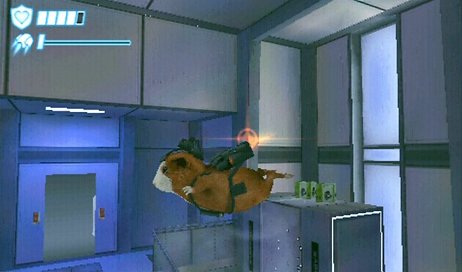 Using A Jetpack In G Force The Video Game