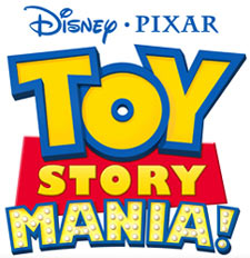 'Toy Story Mania!' game logo