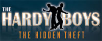 'The Hardy Boys: The Hidden Theft' for Wii game logo