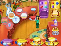 Customize Jill's wardrom during the game in Cake Mania 3