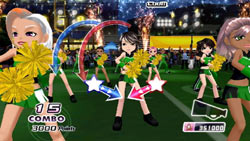 Single player action from We Cheer 2
