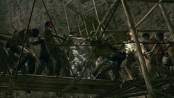 Mercenaries Mode screenshot from 'Resident Evil 5'