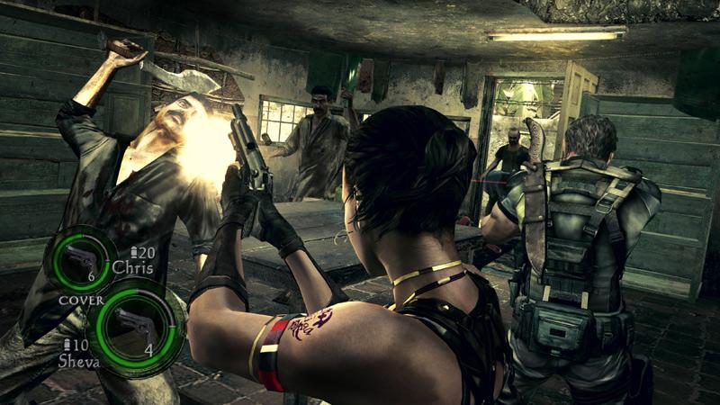 Amazon Com Resident Evil 5 Pc Video Games