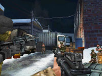 Classic house-to-house combat example from Call of Duty: Modern Warfare: Mobilized