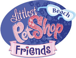 Littlest Pet Shop Beach Friends game logo