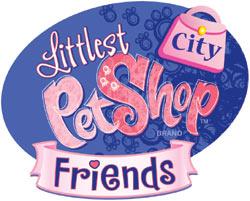Littlest Pet Shop City Friends game logo
