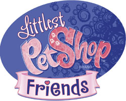 Littlest Pet Shop Friends game logo