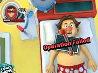Multiplayer Operation gameplay screen from Hasbro Family Game Night 2