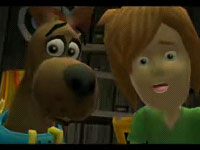 Scooby and Shaggy in 'Scooby-Doo! First Frights' for DS