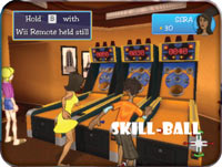 Skill-Ball mini-game from 'Cruise Ship Vacation Games'