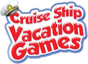 'Cruise Ship Vacation Games' game logo