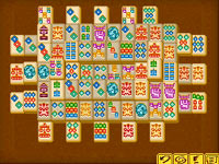 Classic mode in 'Mahjong: Journey Quest for Tikal'