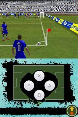 A header at midfield in FIFA Soccer 10