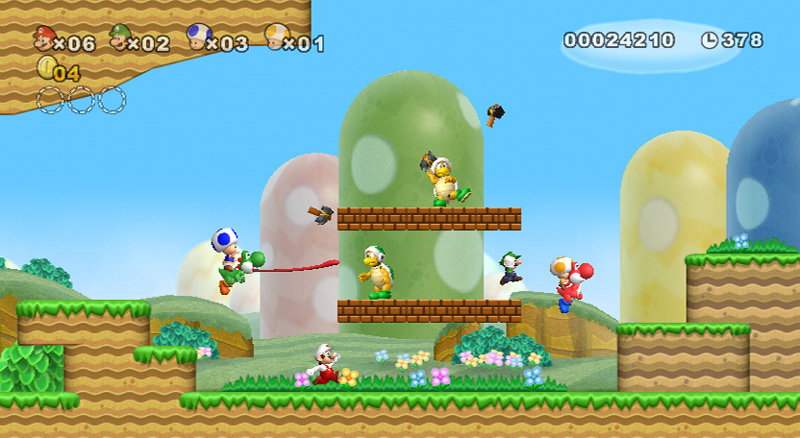 Amazon.com: New Super Mario Bros. Wii: Nintendo Wii