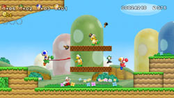 2-4 player simultaneous multiplayer in 'New Super Mario Bros. Wii'