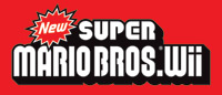 'New Super Mario Bros. Wii' game logo