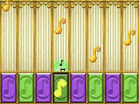 Musical gameplay via the game's jukebox in The Princess and the Frog for DS/DSi