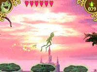 Multiplayer support in The Princess and the Frog for DS/DSi