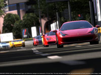 Multiplayer race in Gran Turismo 5
