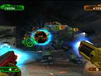 2-player co-op action in NERF: N-Strike Elite