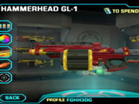 One of 16 available in-game NERF weapons available in NERF: N-Strike Elite