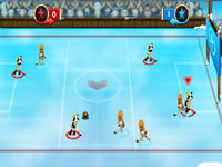 Multiplayer hockey game in Drawn to Life: The Next Chapter
