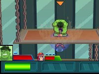 Hulk battling Magneto in Marvel Super Hero Squad