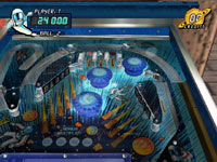Playing a second ball in 'Black Hole' from Pinball Hall of Fame: The Gottlieb Collection