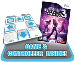 Dance mat and game included in DanceDanceRevolution Hottest Party 3 Bundle