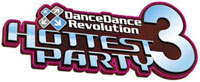 DanceDanceRevolution Hottest Party 3 game logo