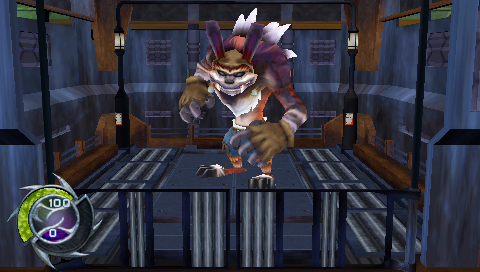 under the influence of Dark Eco in Jak and Daxter: The Lost Frontier