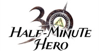 Half-Minute Hero game logo